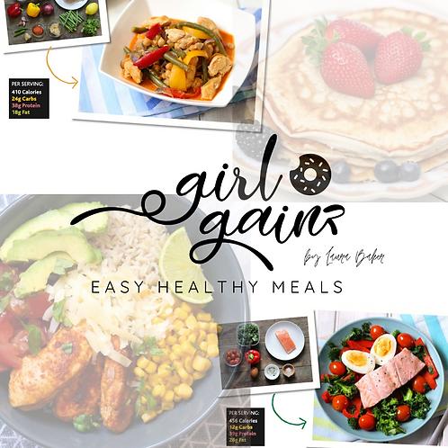 Easy Healthy Meals Recipe Ebook