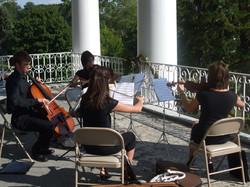 Quartet on the Balcony