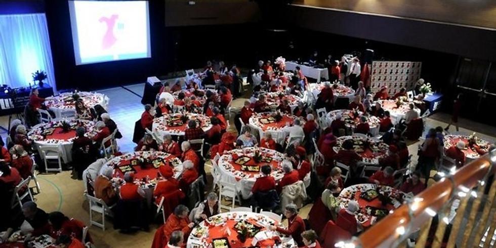 Licking Memorial Red Dress Event