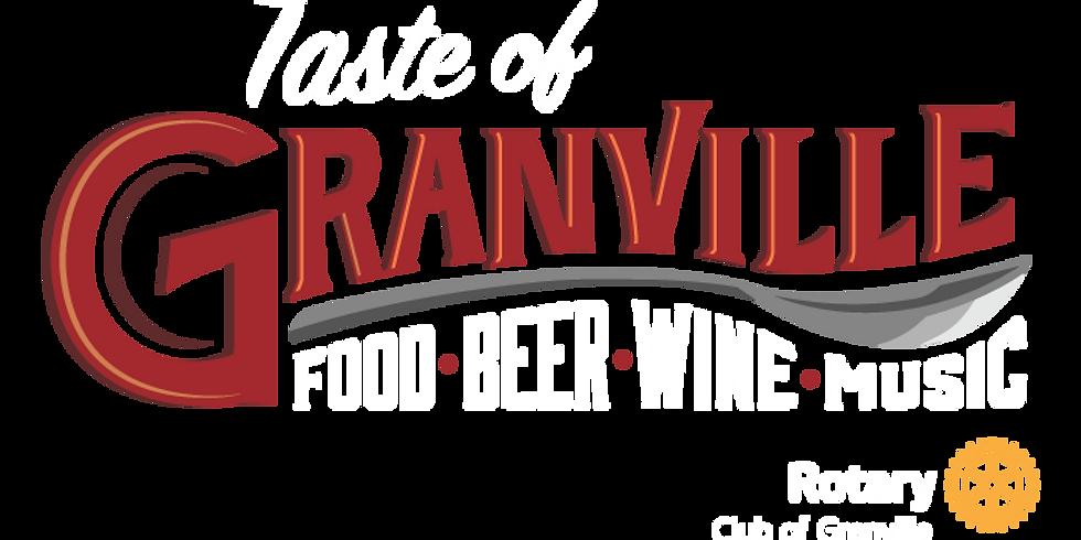 Rotary Taste of Granville
