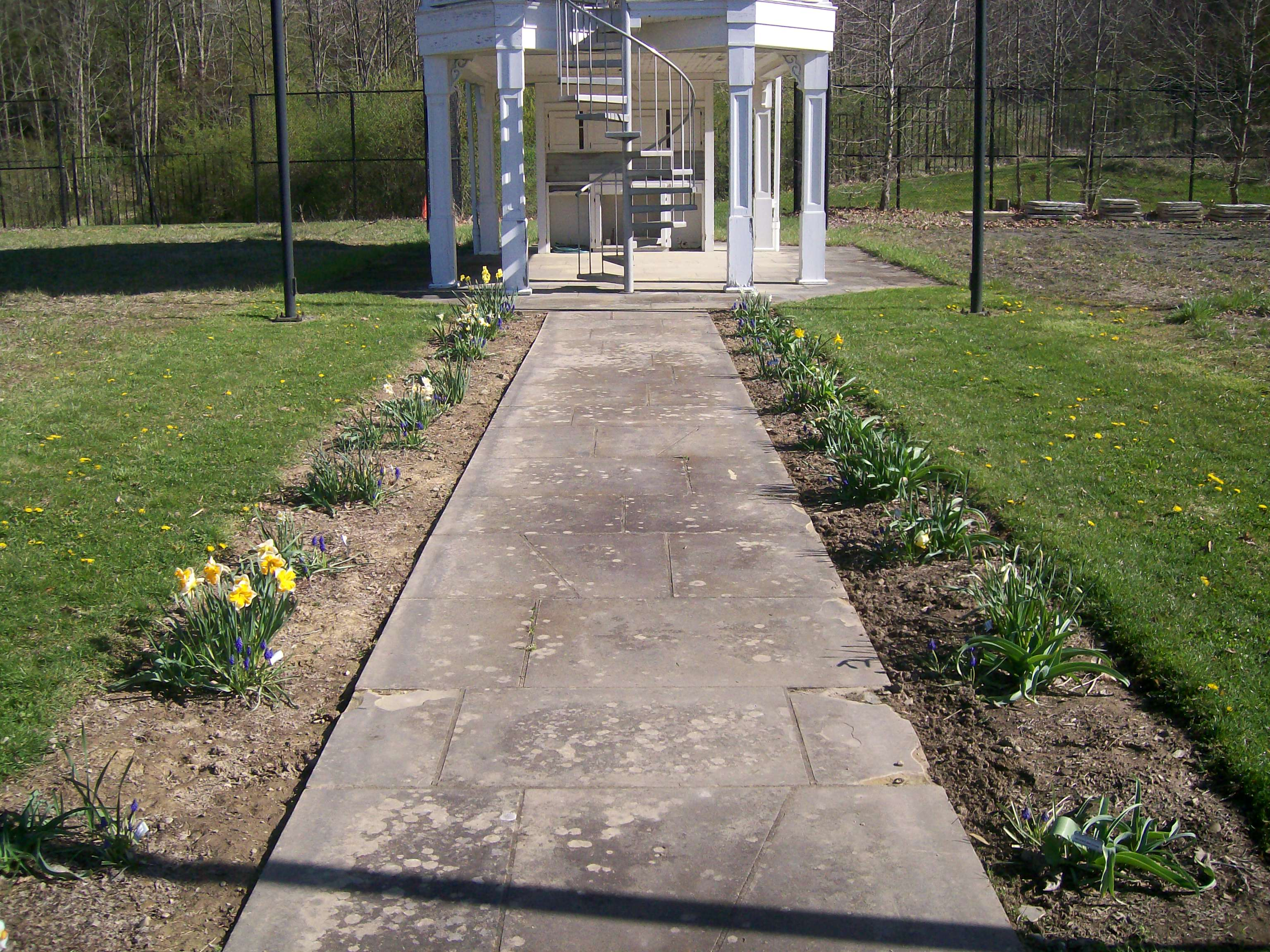 Prairie Garden pathway