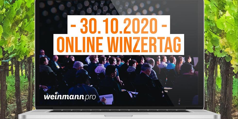 Weinmann pro Online Winzertag am 30.10.2020