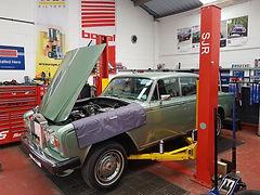 Classic car servicing. Ledbury. Hereford. CAS Motor Services Ltd