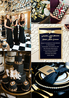 Gatsby-themed-black-and-gold-wedding-ide