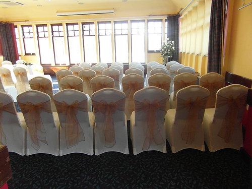 plain white spandex chair covers