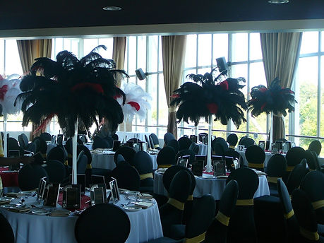 Black-White-Red-Ostrich-Centerpieces-Atl