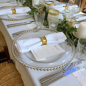 Gold-Beaded-Charger-Plates-and-napkin-ri
