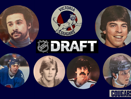 15 FACTS ABOUT THE VICTORIA COUGARS AND THE NHL DRAFT