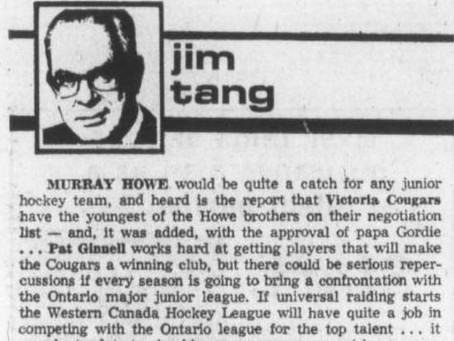 Murray Howe could have been a Cougar