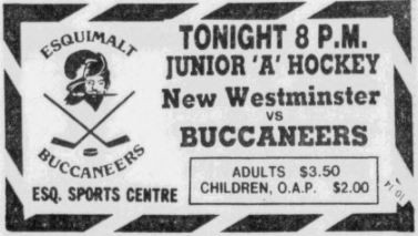 The History of the Esquimalt Buccaneers – Part Two: The Clippers Return