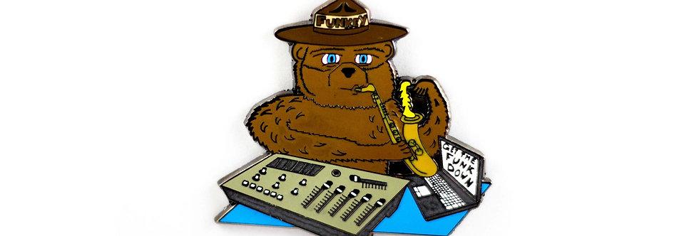 Funkey The Bear Pin