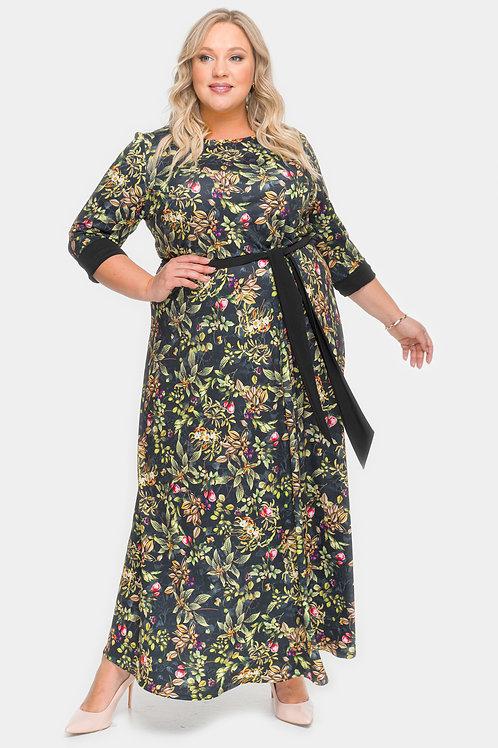 платье в пол большого размера