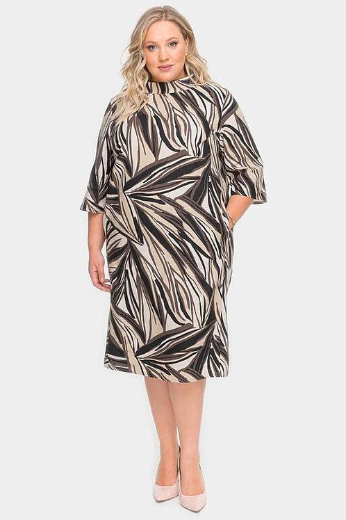 платье льняное большого размера