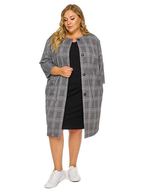 кардиган-пальто большого размера
