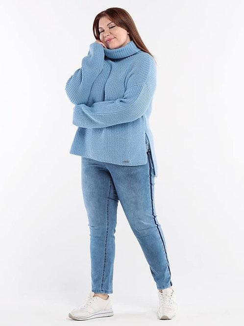 свитер с хлопком большой размер