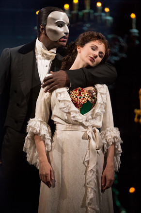 As Christine Daaé with Norm Lewis as the title role.