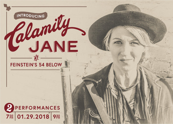 Starring in Calamity Jane