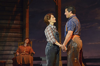 Starring as Laurie opposite Nicholas Rodrigues as Curly in Oklahoma