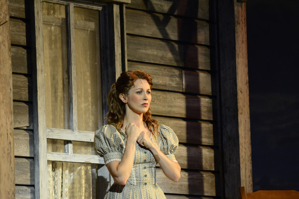 As Laurie in Oklahoma.