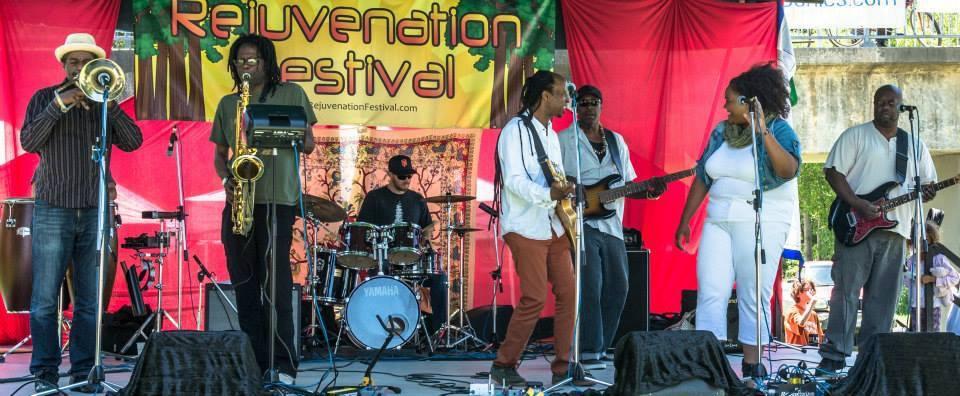 At Rejuvenation Fest