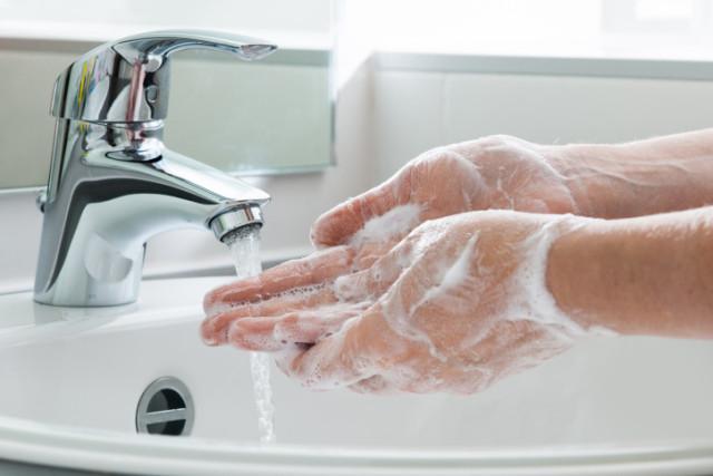 ikke dropp håndvasken
