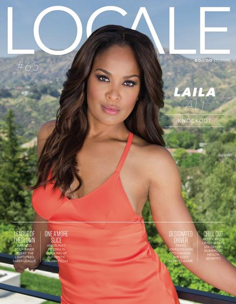 Laila Ali Locale Magazine Cover