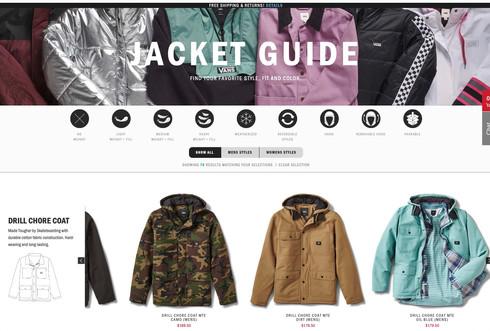 Vans Jacket Guide