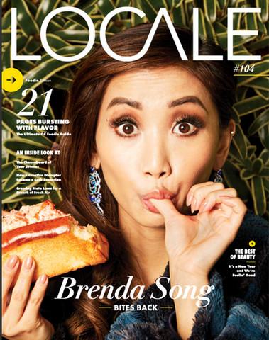 Brenda Song- Revista Locale