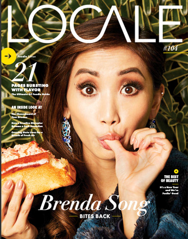 Brenda Song- Locale Magazine