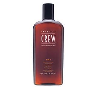 American Crew 3-in-1 Shampoo, Conditioner, Body Wash