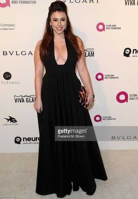 Jillian Rose Reed Elton John Oscars Viewing Party