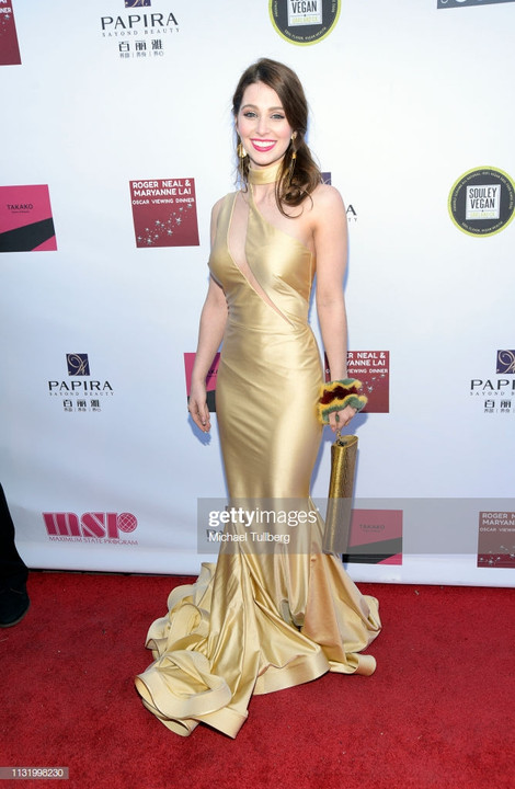 Ainsley Ross Roger Neal Oscars Party