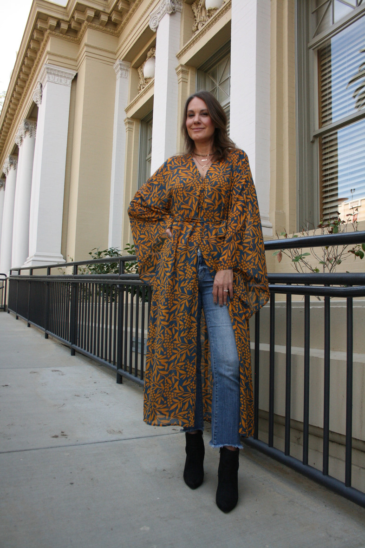My Style: Dresses Over Denim