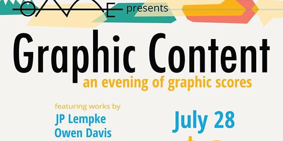 Graphic Content: A Graphic Score Concert