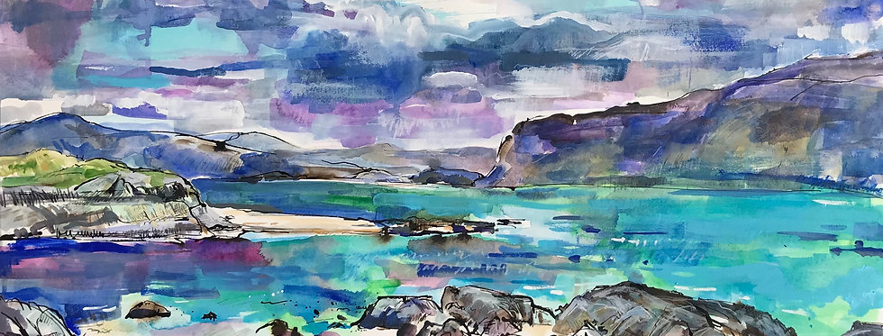 Storm Island from Iona