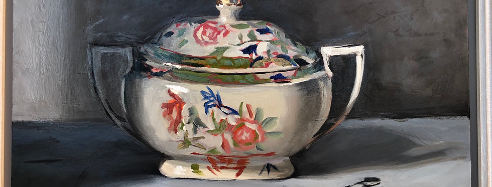 Gravy Boat and Spoon