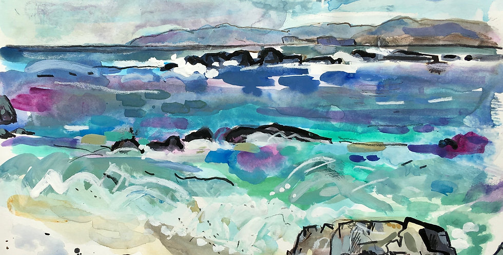 Staffa, From Iona