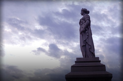 Cemetary-statue