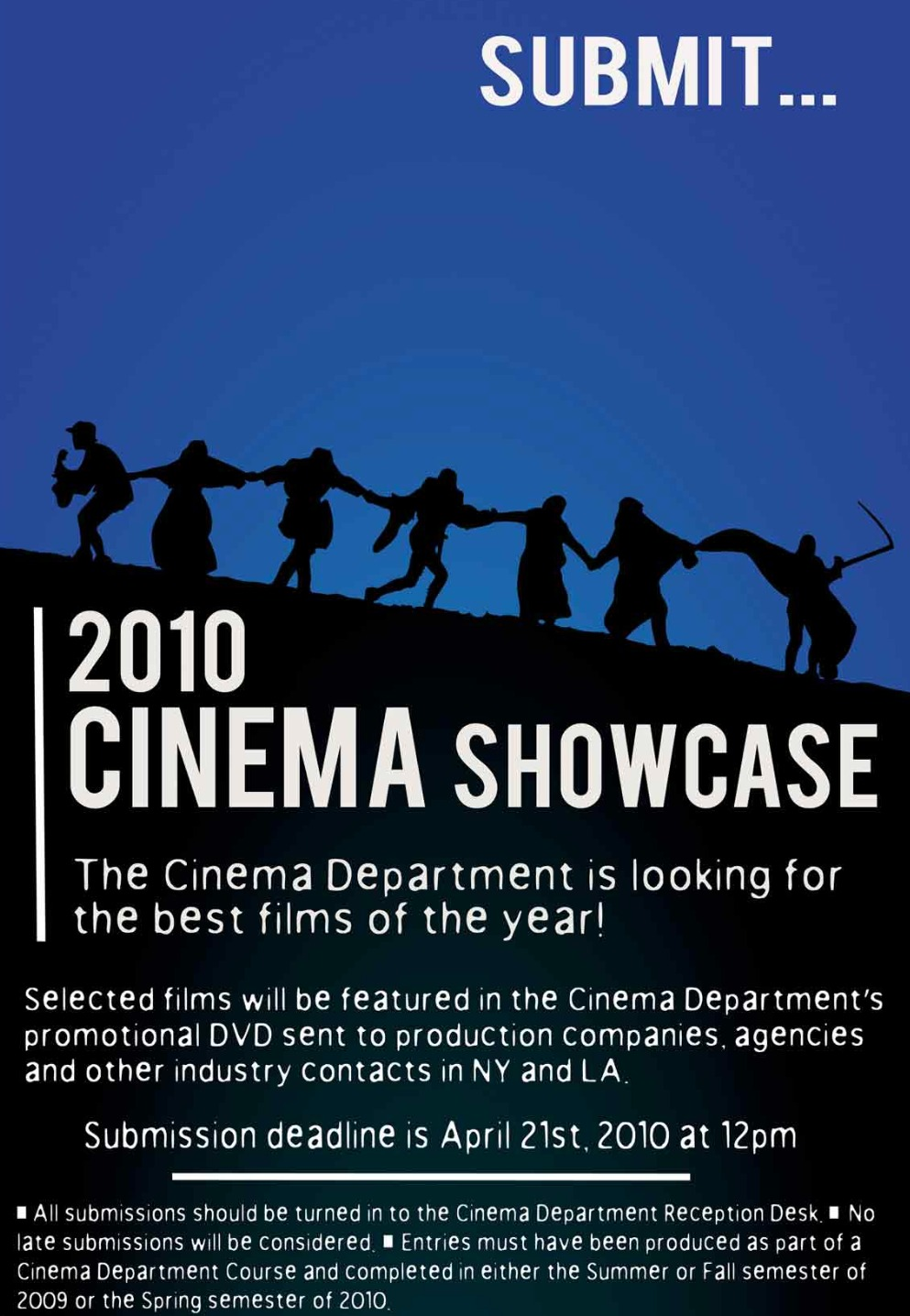 Cinema Showcase Promo Poster