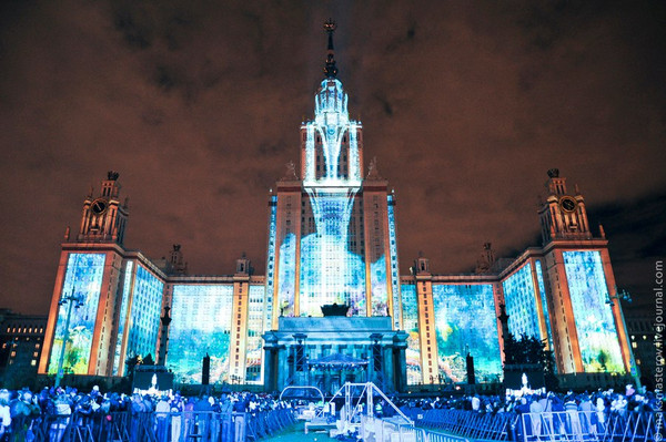 Приглашаем поучаствовать в создании идей для светового шоу в рамках Московского международного фести