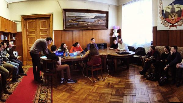 Собрание поискового отряда Московского университета