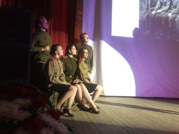 Торжественный выезд студентов, аспирантов и преподавателей в город воинской славы Ельня