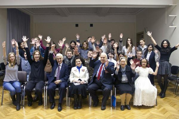 Состоялся творческий вечер для ветеранов Великой Отечественной войны