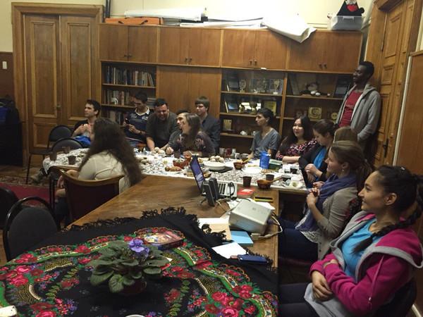 Состоялась первая встреча Ибероамериканского клуба Международного центра Студенческого союза МГУ