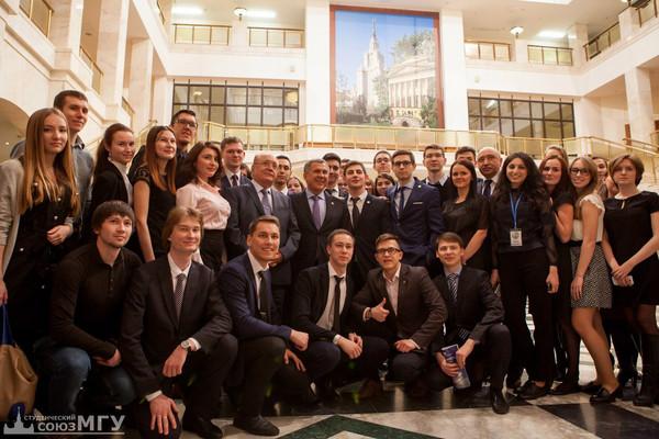 Встреча с президентом Республики Татарстан Р.Н. Миннихановым