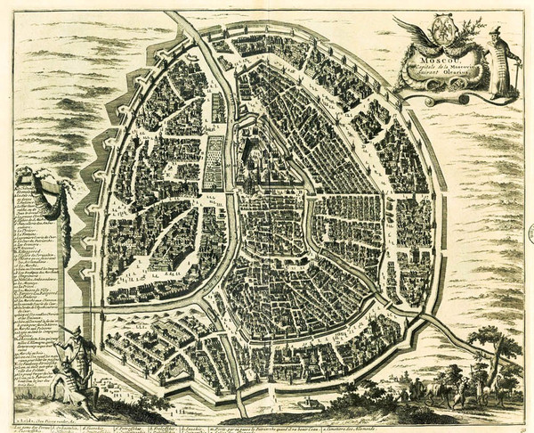 """Приглашаем на лекцию """"Москва: исторические наслоения в картах, планах и улицах"""""""
