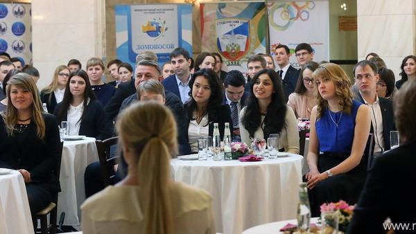 Встреча Президента РФ В.В. Путина с участниками Форума лидеров студенческих и молодёжных организаций