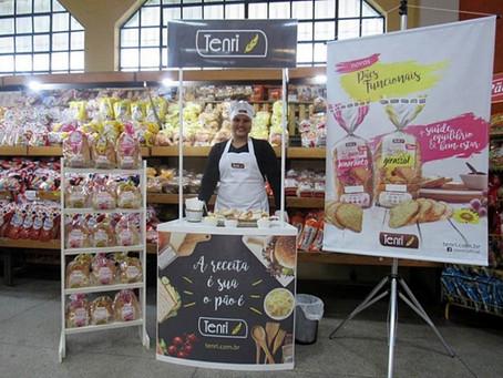 Tenri promove degustação nos supermercados da região