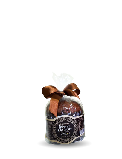 Mini Panetone Gotas de Chocolate