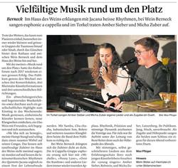 Musik rund um den Platz